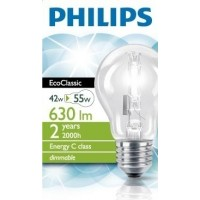 Philips EcoClassic 42W E27 A55 CL