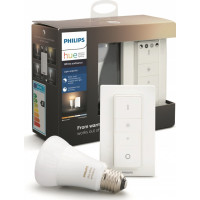Hue Bluetooth žárovka LED E27 9,5W 806lm 2200-6500K + dimmer switch